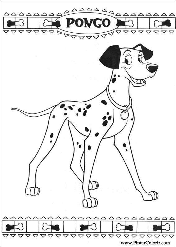 Baskı Tasarım 002 çizimler Colour 101 Dalmaçyalı Boya Ve Için