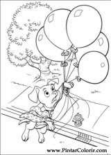 Pintar e Colorir 102 Dalmatas - Desenho 016