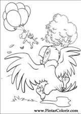 Pintar e Colorir 102 Dalmatas - Desenho 017