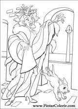 Pintar e Colorir 102 Dalmatas - Desenho 032
