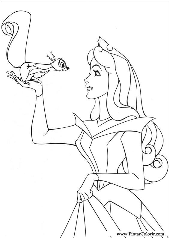 çizimler Boya Için Ve Renk Uyuyan Baskı Tasarım 001