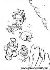 Pintar e Colorir A Procura De Nemo - Desenho 003