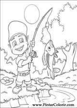 Pintar e Colorir Adiboo - Desenho 014