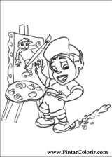 Pintar e Colorir Adiboo - Desenho 052