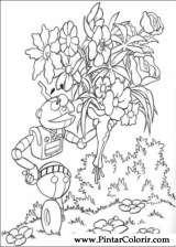 Pintar e Colorir Adiboo - Desenho 053