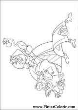 Pintar e Colorir Alice No Pais Das Maravilhas - Desenho 004