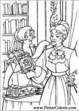 Pintar e Colorir Anastasia - Desenho 011