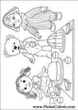 Pintar e Colorir Andy Pandy - Desenho 001