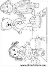 Pintar e Colorir Andy Pandy - Desenho 049