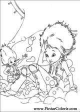 Pintar e Colorir Arthur E Os Minimoys - Desenho 002