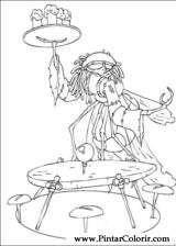 Pintar e Colorir Arthur E Os Minimoys - Desenho 011