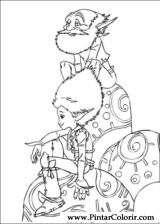 Pintar e Colorir Arthur E Os Minimoys - Desenho 012