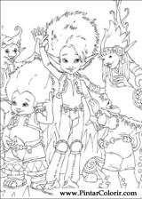 Pintar e Colorir Arthur E Os Minimoys - Desenho 013