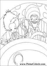 Pintar e Colorir Artur Maltazard - Desenho 007