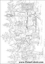 Pintar e Colorir As Cronicas De Narnia - Desenho 003