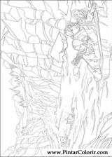 Pintar e Colorir As Cronicas De Narnia - Desenho 007