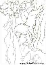 Pintar e Colorir As Cronicas De Narnia - Desenho 013