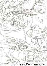 Pintar e Colorir As Cronicas De Narnia - Desenho 014