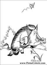 Pintar e Colorir Asterix - Desenho 009