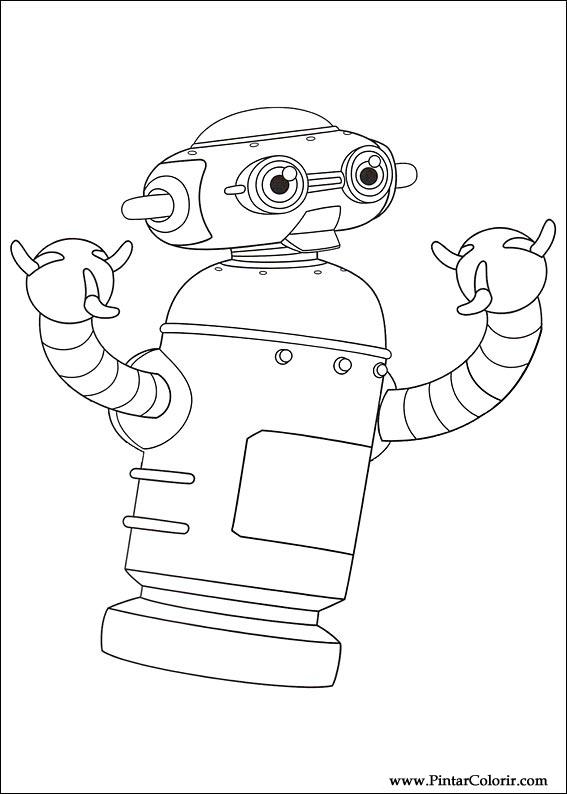 Pintar e Colorir Astro Boy - Desenho 005