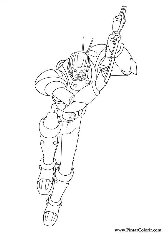 Pintar e Colorir Astro Boy - Desenho 014