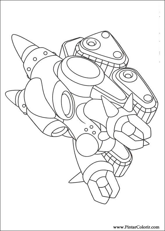 Pintar e Colorir Astro Boy - Desenho 015