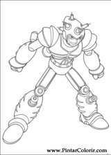 Pintar e Colorir Astro Boy - Desenho 008