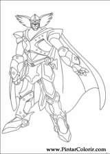 Pintar e Colorir Astro Boy - Desenho 009