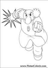 Pintar e Colorir Astro Boy - Desenho 010
