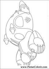 Pintar e Colorir Astro Boy - Desenho 016