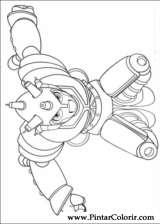 Pintar e Colorir Astro Boy - Desenho 019