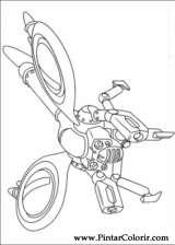Pintar e Colorir Astro Boy - Desenho 020
