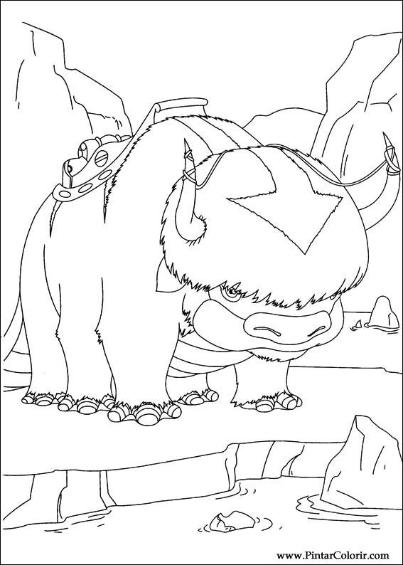 çizimler Boya Ve Renk Avatar Için Baskı Tasarım 013