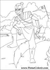 Pintar e Colorir Avatar - Desenho 002