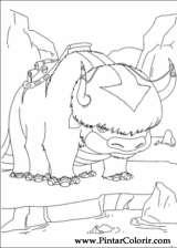 Pintar e Colorir Avatar - Desenho 013