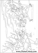 Pintar e Colorir Avatar - Desenho 026
