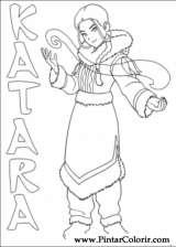 Pintar e Colorir Avatar - Desenho 027