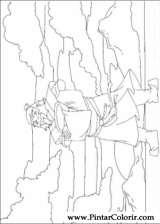 Pintar e Colorir Avatar - Desenho 030