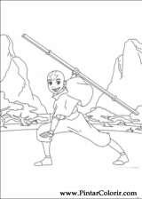 Pintar e Colorir Avatar - Desenho 032