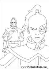 Pintar e Colorir Avatar - Desenho 033