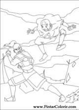 Pintar e Colorir Avatar - Desenho 035