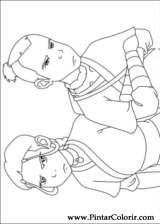 Pintar e Colorir Avatar - Desenho 040