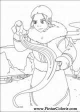 Pintar e Colorir Avatar - Desenho 042