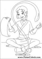 Pintar e Colorir Avatar - Desenho 044