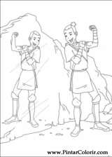Pintar e Colorir Avatar - Desenho 049