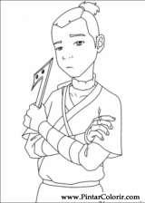 Pintar e Colorir Avatar - Desenho 050