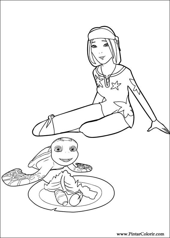 Desenhos Para Pintar E Colorir Aventuras De Sammy Imprimir