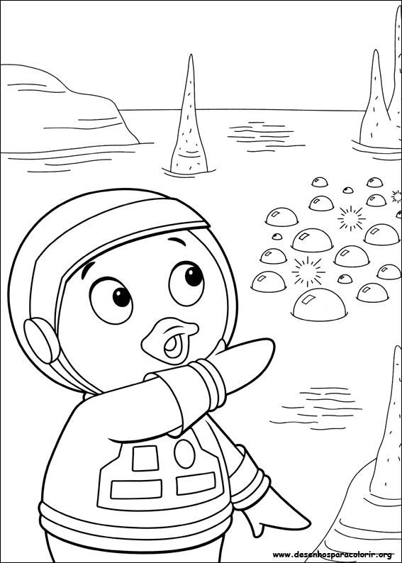Desenhos Para Pintar E Colorir Backyardigans Imprimir Desenho 032