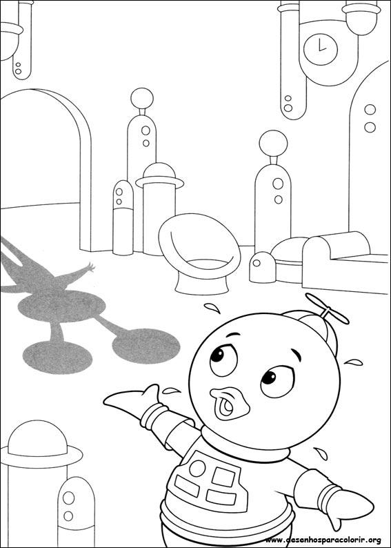 Desenhos Para Pintar E Colorir Backyardigans Imprimir Desenho 043