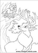 Pintar e Colorir Bambi 2 - Desenho 049